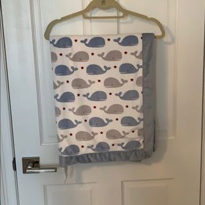Wendy bellissimo whale baby blanket